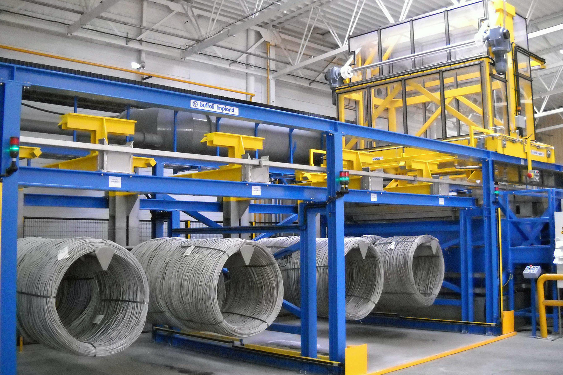 Electroplating surface treatment lines – Buffoli Group